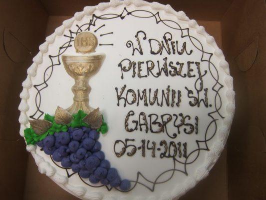 Baptism cake 2